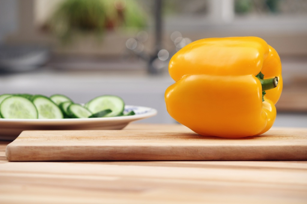 yellow pepper, look younger