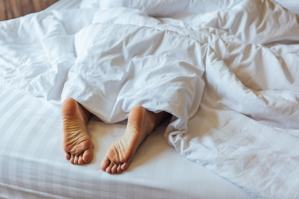getting enough sleep will make you instantly happy