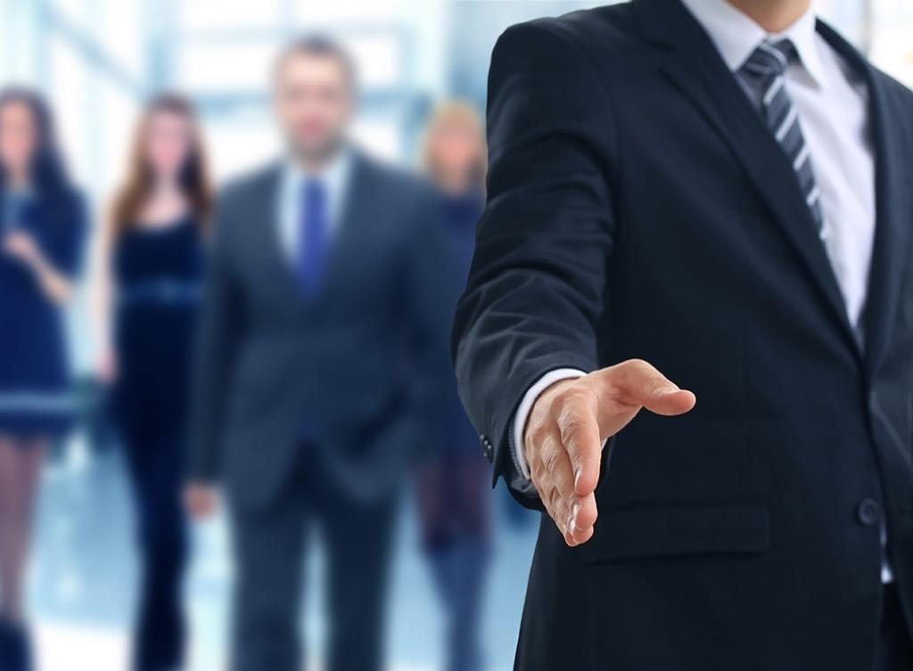 handshake Smartest Men Get Ahead