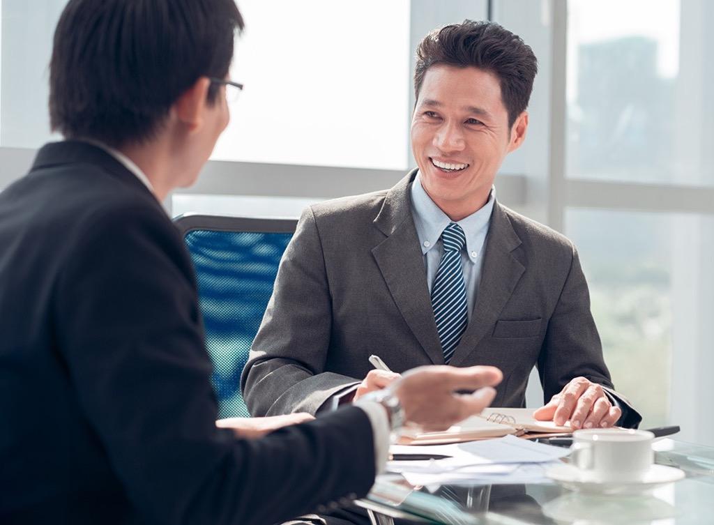 business men in office Smartest Men Get Ahead