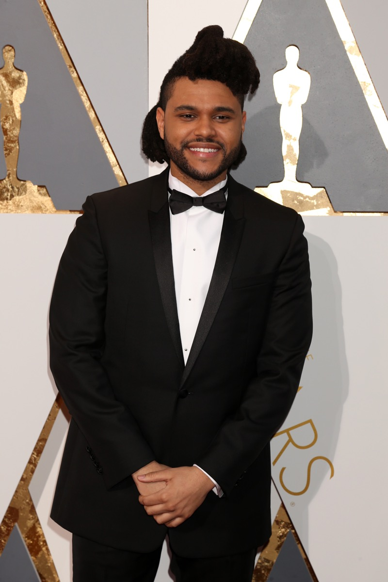 The Weeknd hairstyles for men over 40