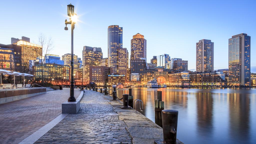 Boston Massachusetts Winter Escape