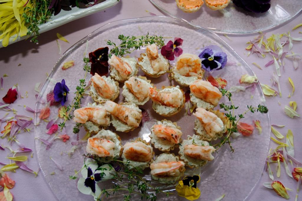 shrimp tray corporate event