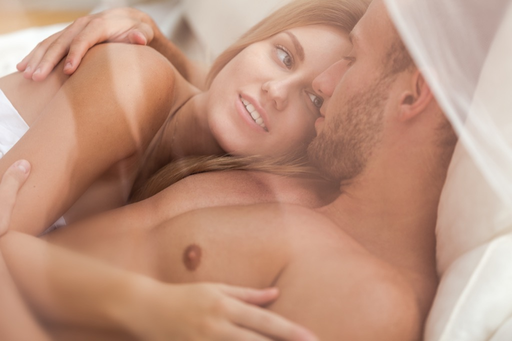 Naked woman sex