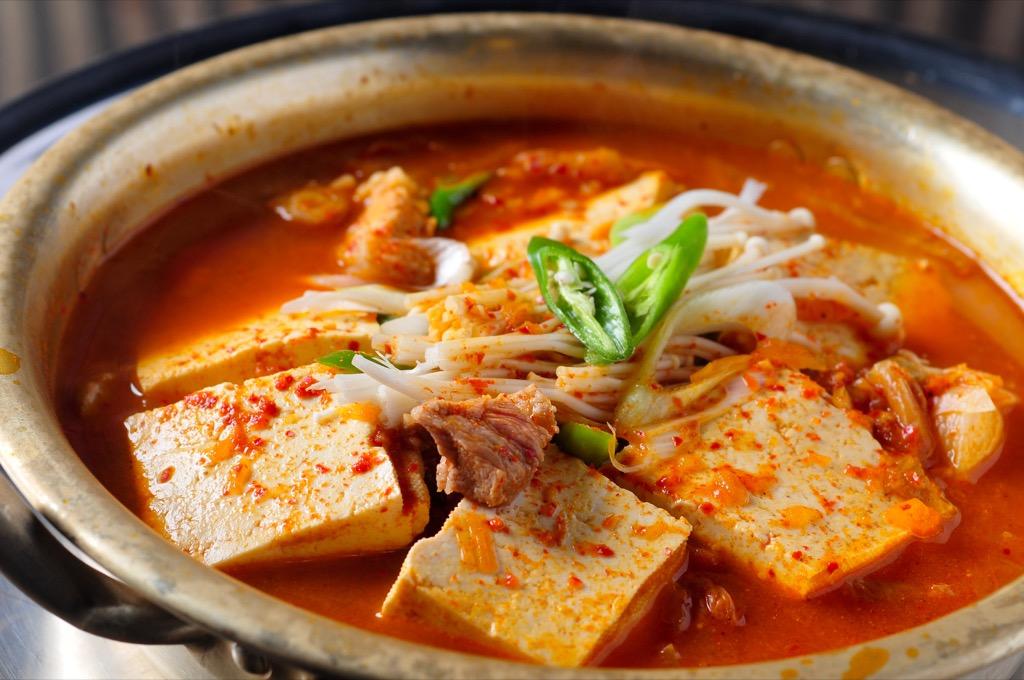 kimchi, best brain foods