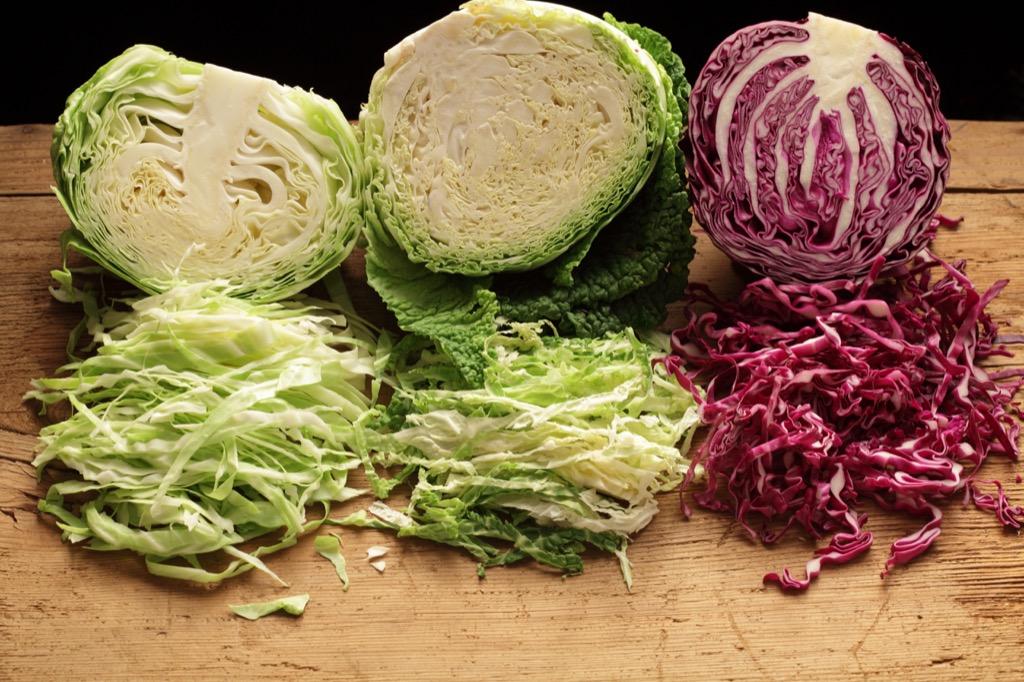 cabbage, best brain foods