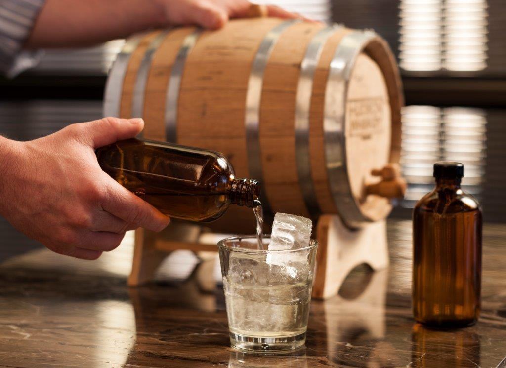 Hotel bars, bank and bourbon