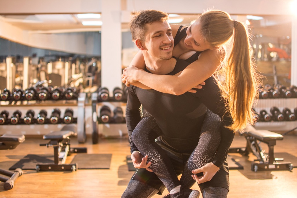 couple at the gym, date night ideas