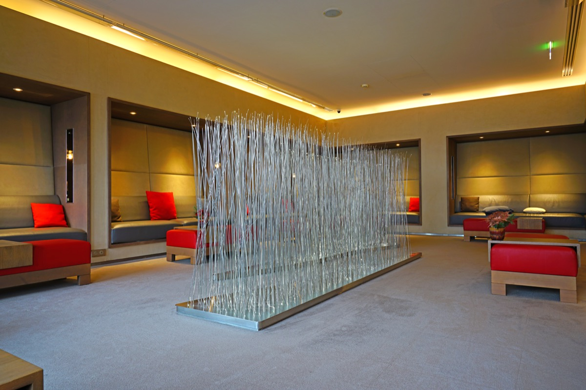 air france first class lounge in the charles de gaulle international airport, airport lounges