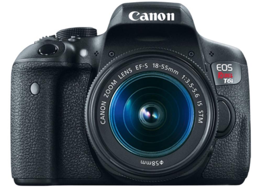 Canon T6i DSLR Camera