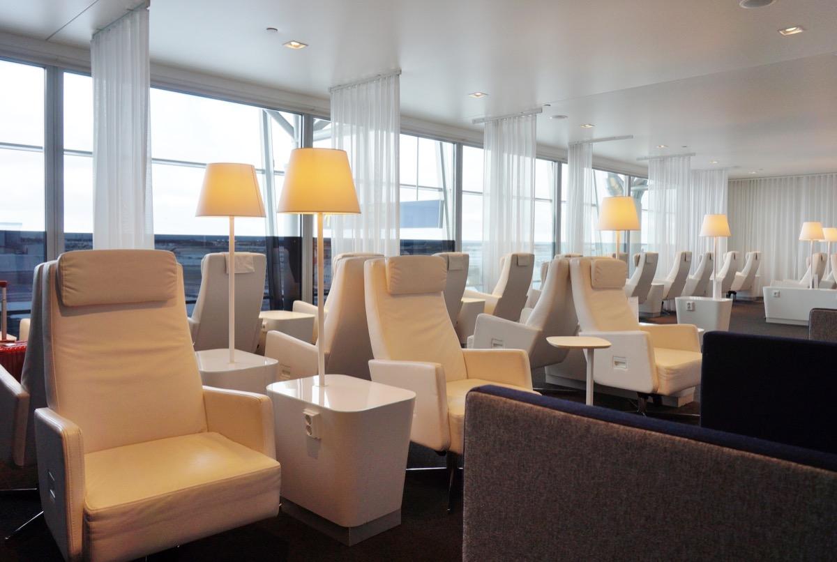 finnair premium lounge at the helsinki airport, airport lounges