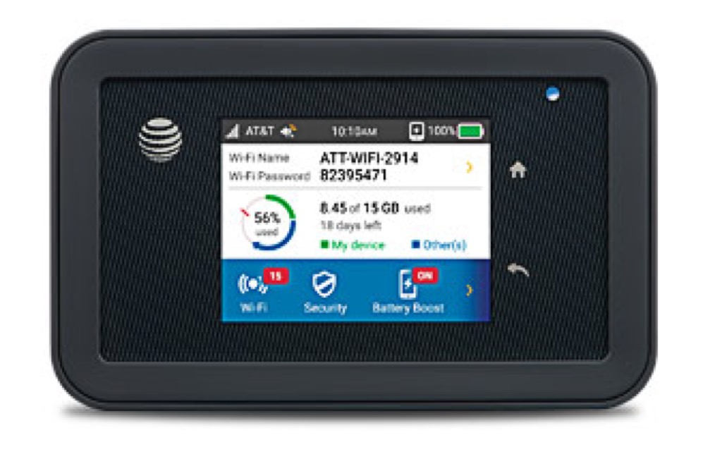 AT&T Mobile WiFi Hotspot