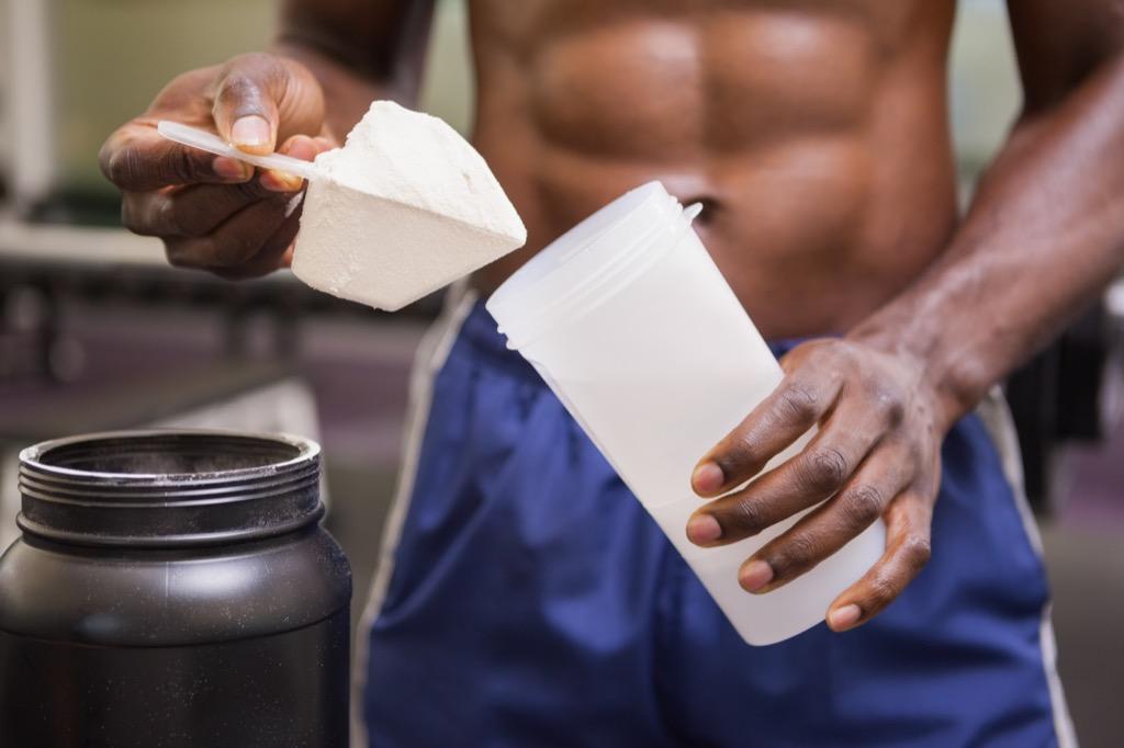 protein shake higher energy