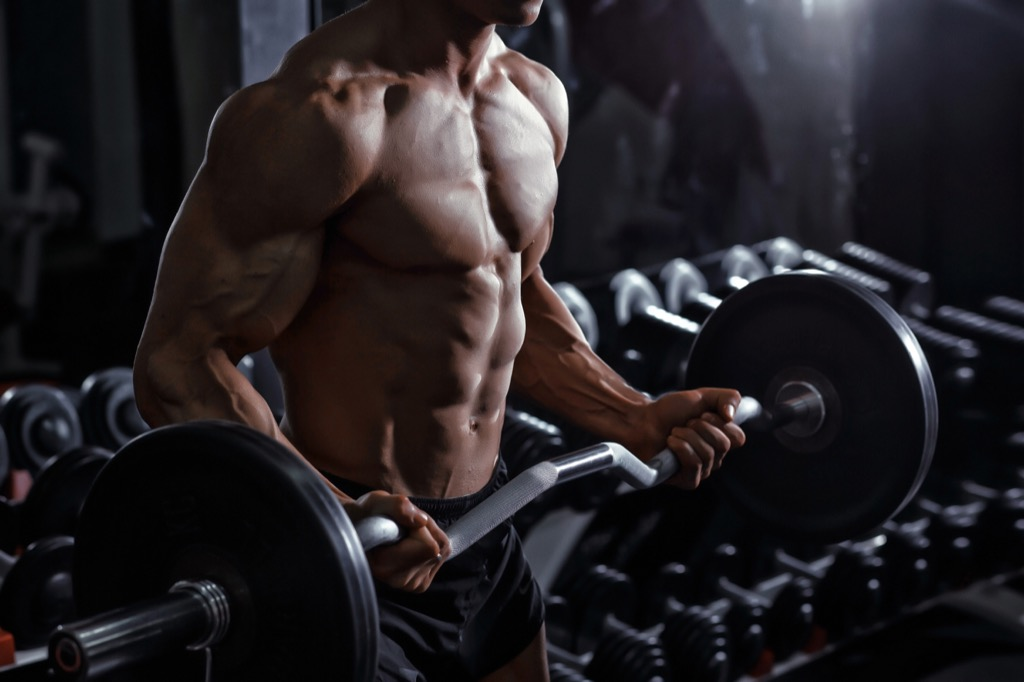 bicep curl build muscle