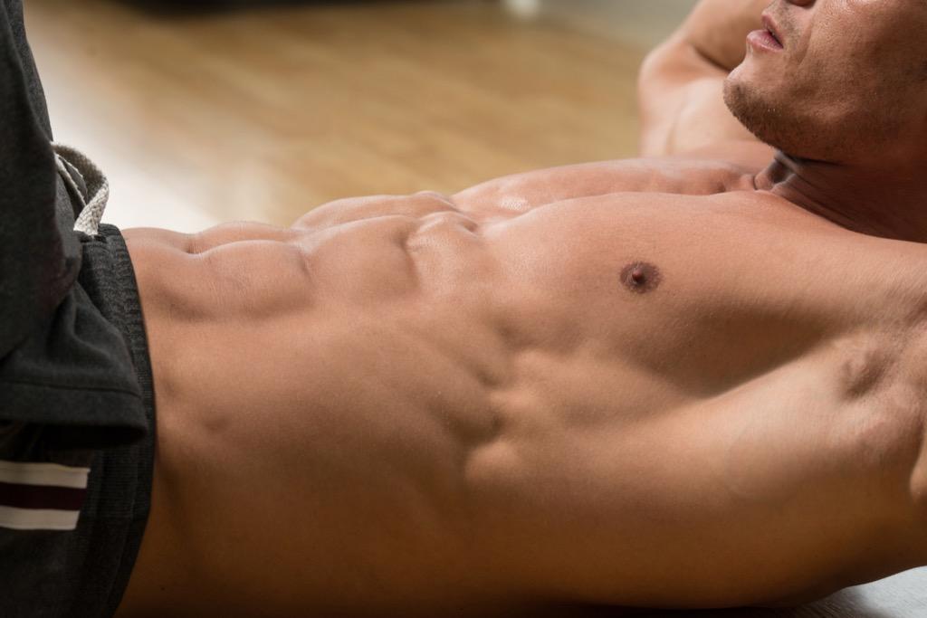 Alternative abs exercise