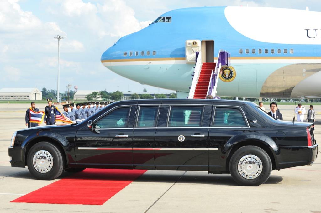 Cars Donald Trump Cadillac One