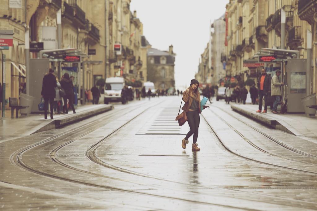 Commute language France