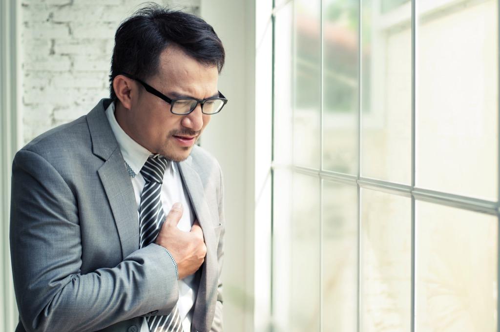 Testosterone heart attack men's health concerns over 40