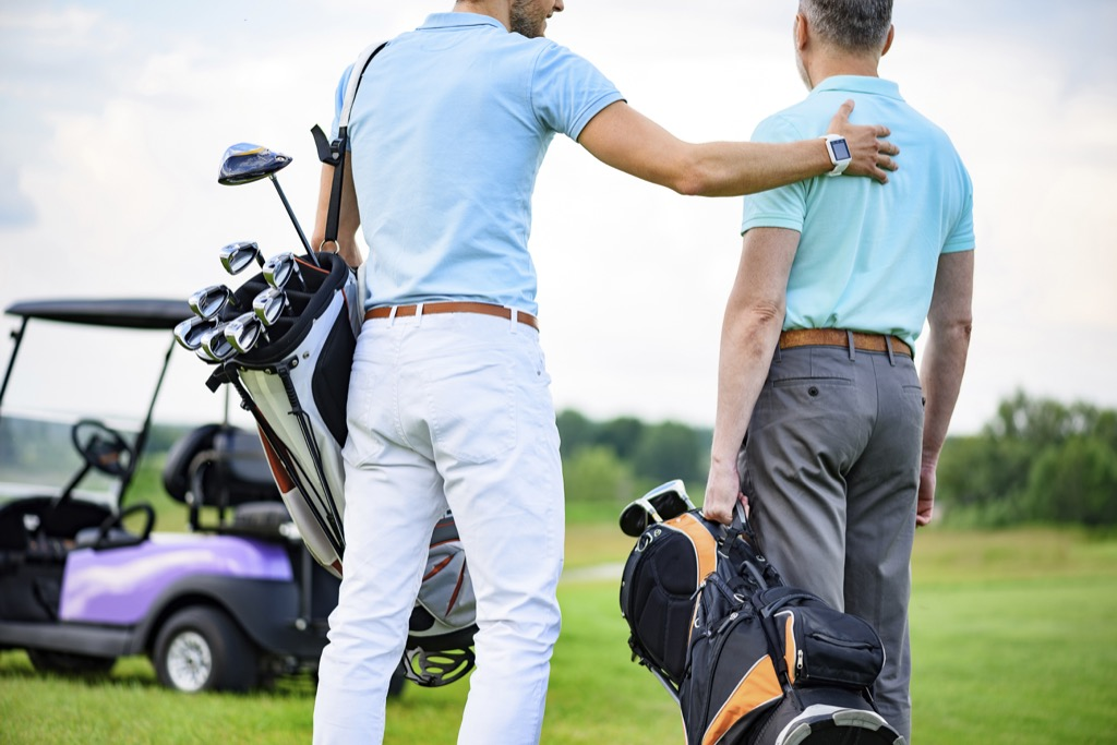 Golf, counter intel
