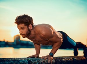 Exercise, push up