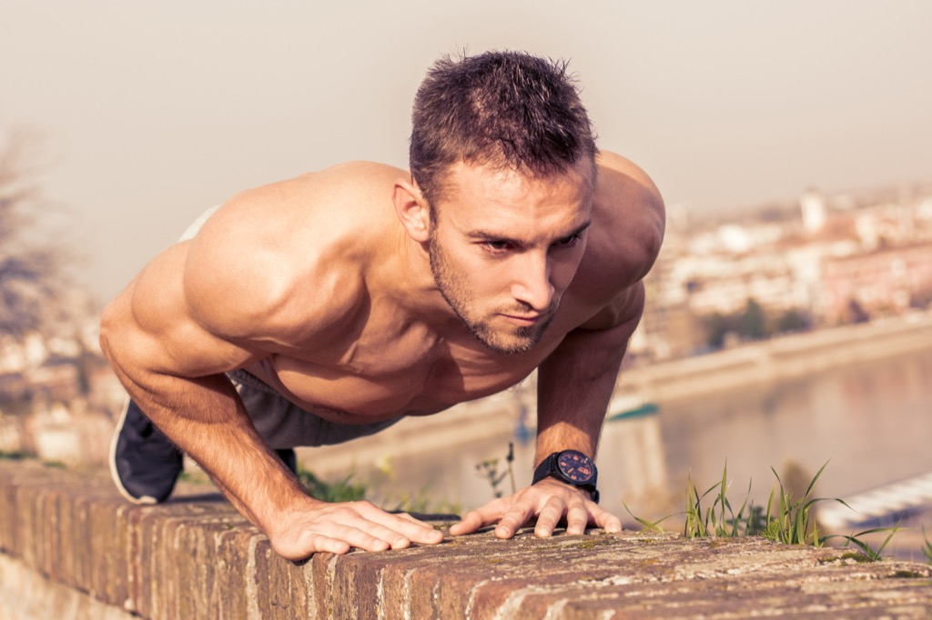 Lean, exercise more