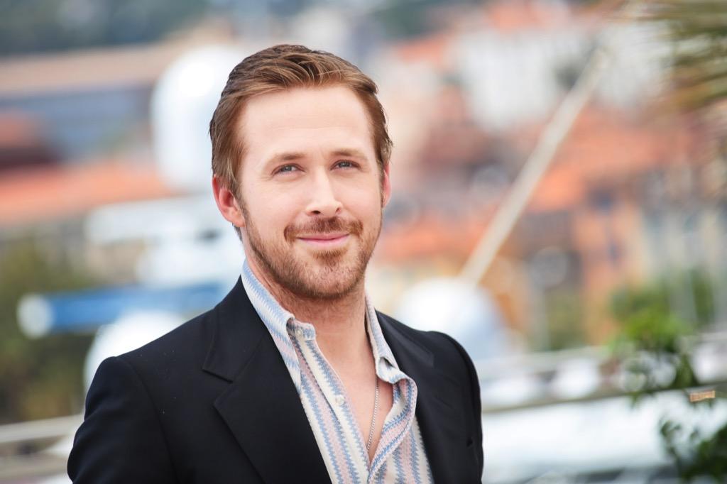 Ryan Gosling celebrities heroes younger