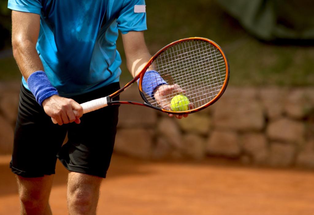 Side hustle tennis hobby