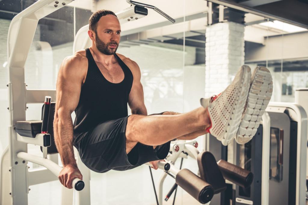 Alternative abs leg lift