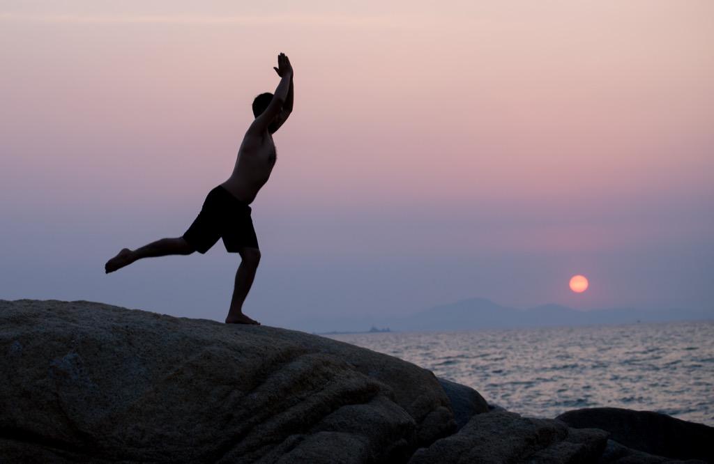 Sex exercise yoga