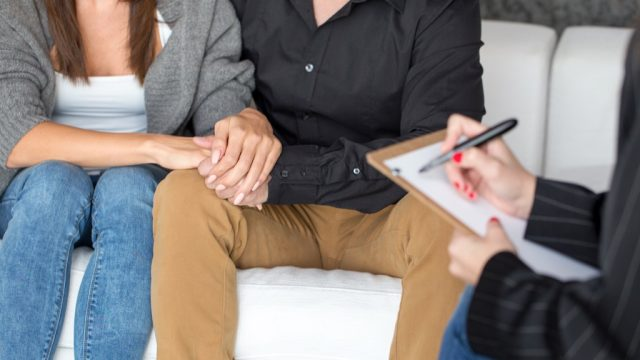 Marriage counseling, open marriage