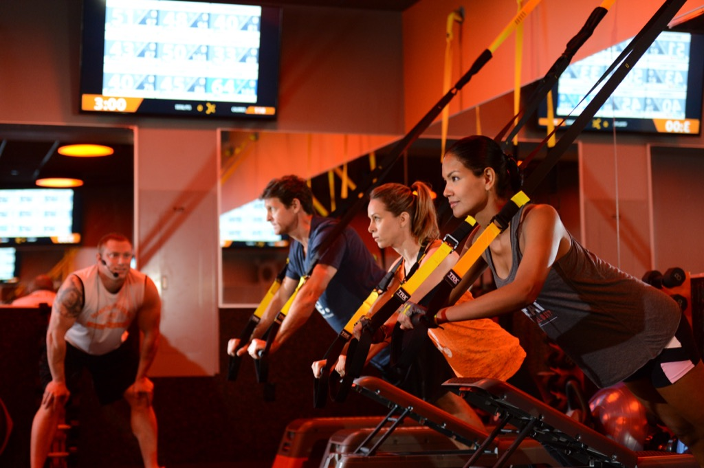 exercise classes can help couples relax together