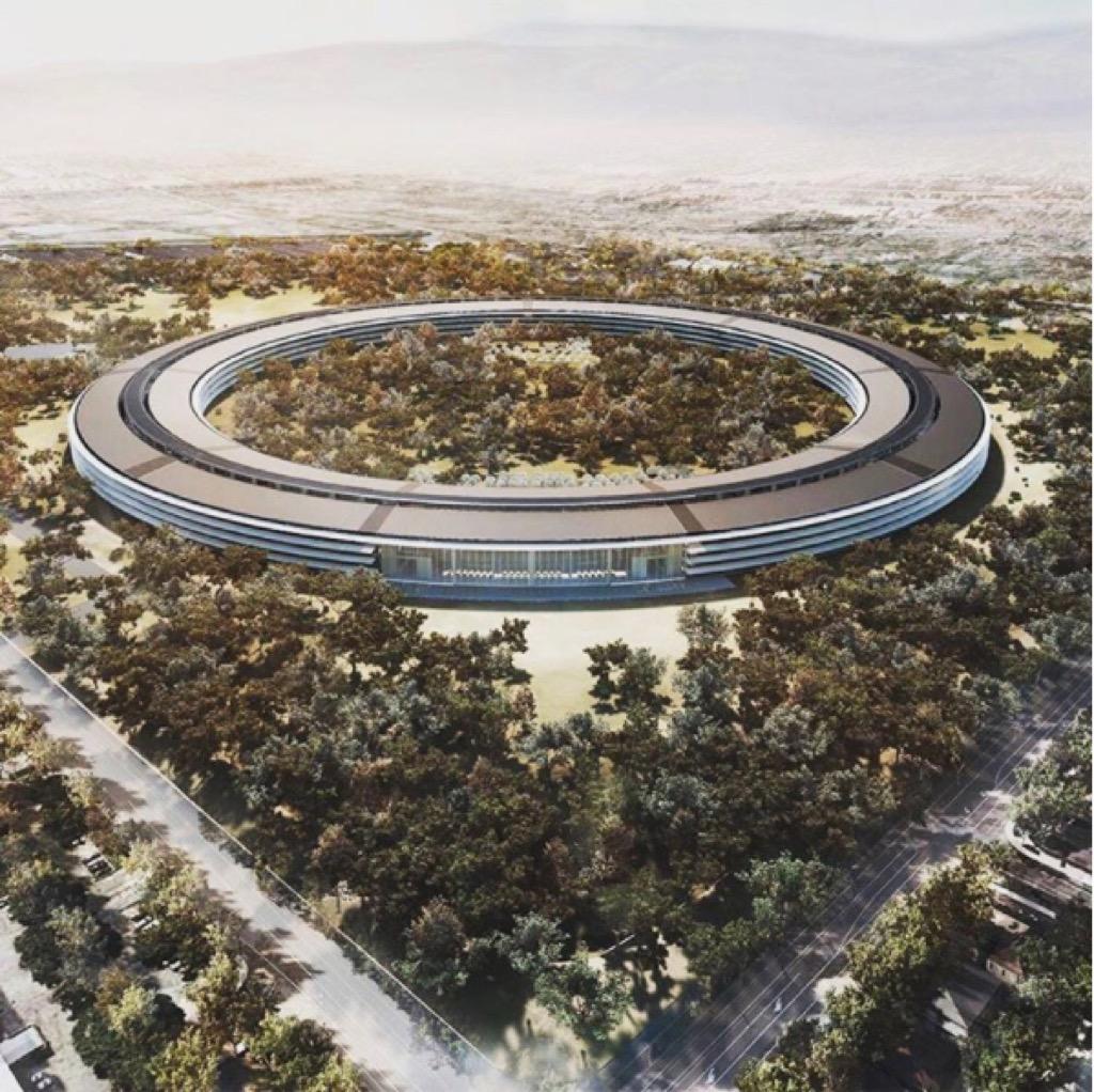 apple's new headquarters