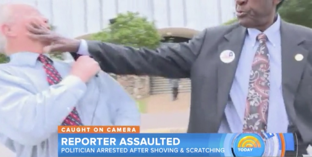politicians punching people