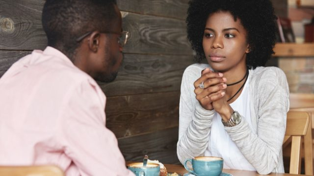 young couple - how to tell spouse you want a divorce