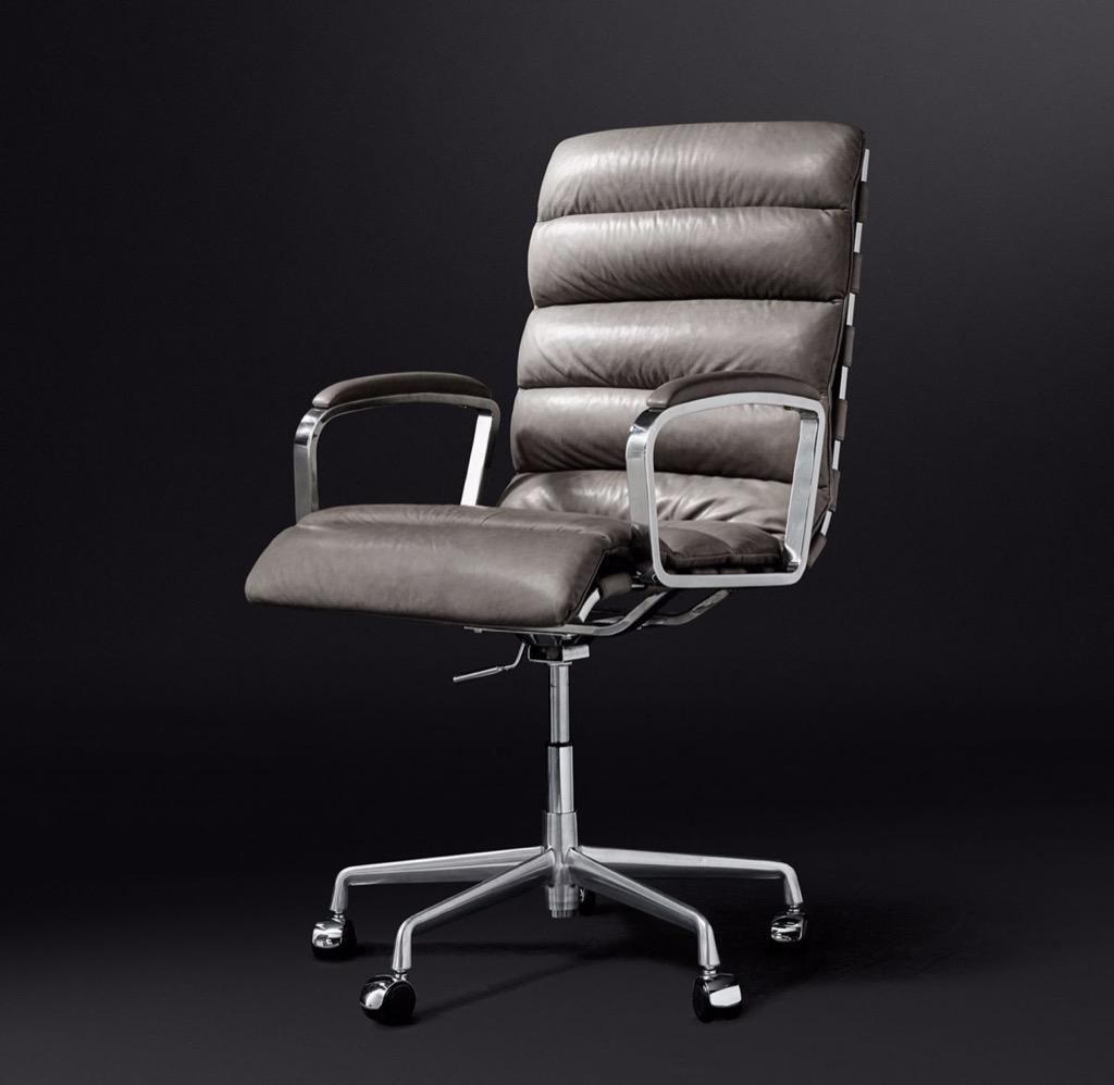rh modern restoration hardware oviedo office chairs