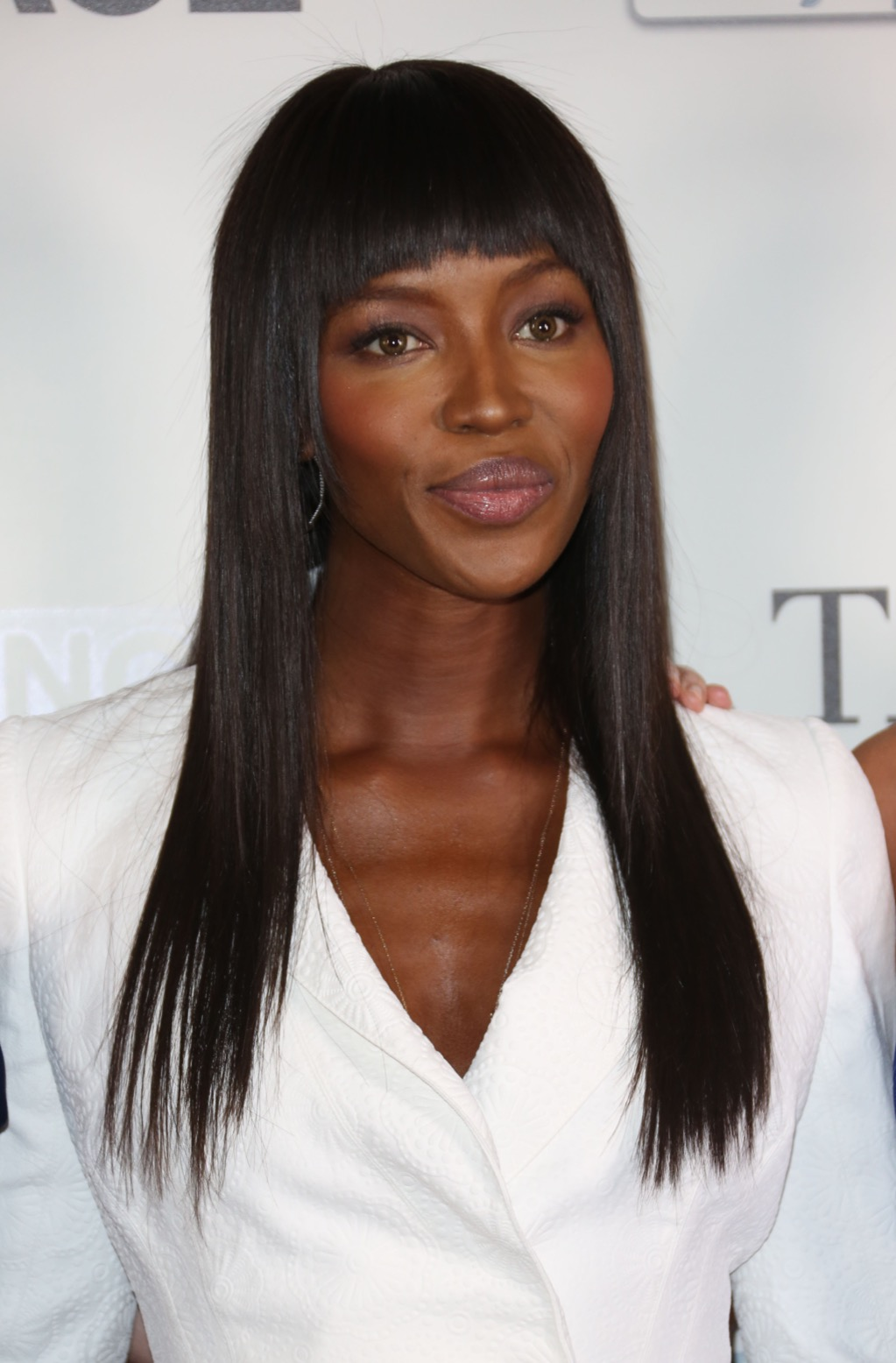 Naomi Campbell women's hairstyles