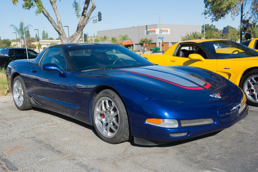 insanely fast cars Corvette C5