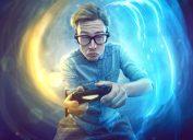 video game player smarter man