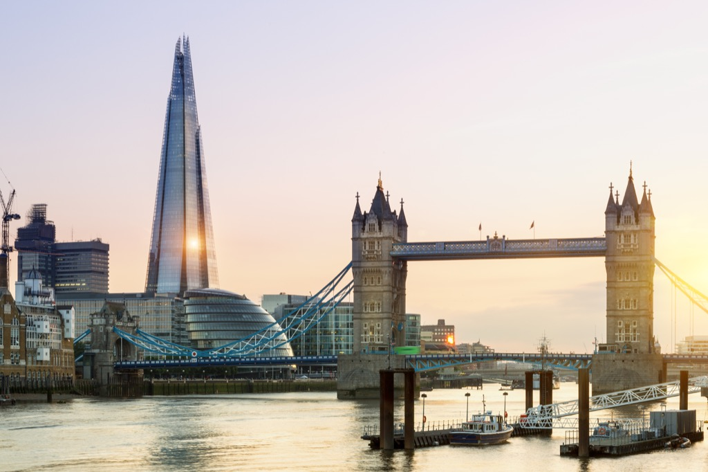 London traveling