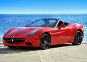 Ferrari California insanely fast cars