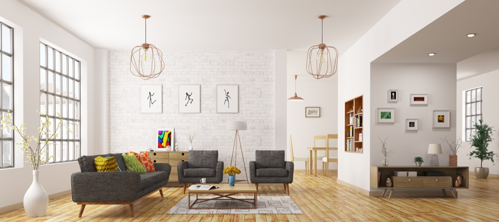 Empty living room housekeeper secrets