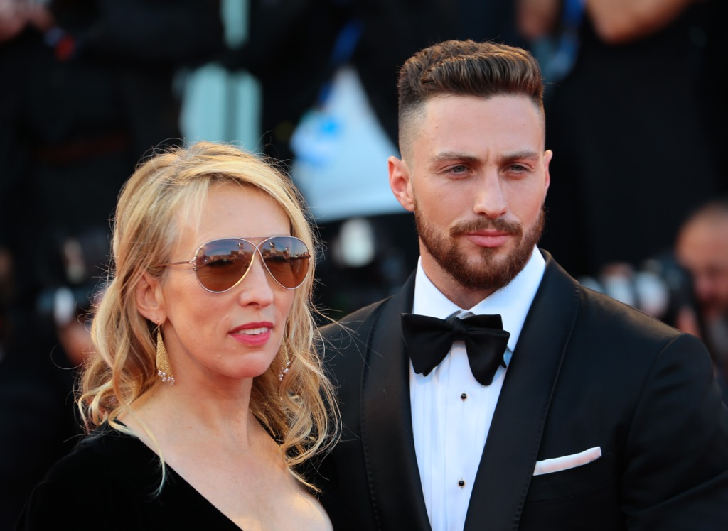 happily married taylor-johnson reverse age gap