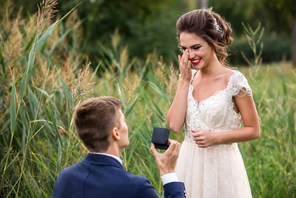 Marriage Proposal outdoors - top tips for planning a special engagement proposal