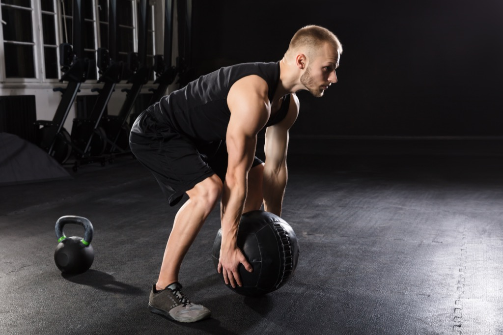 Medicine ball Exercises for Adding Muscle