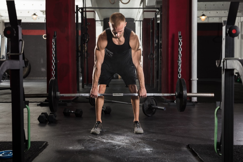 Total body workouts deadlift exercise