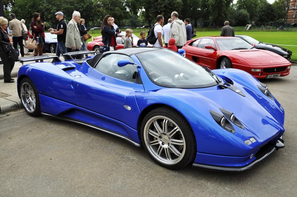 Insanely fast cars pagani zonda