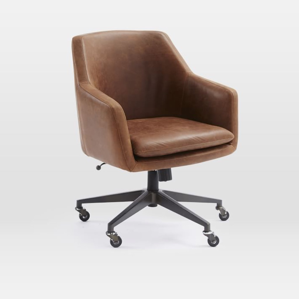 west elm helvetica office chairs