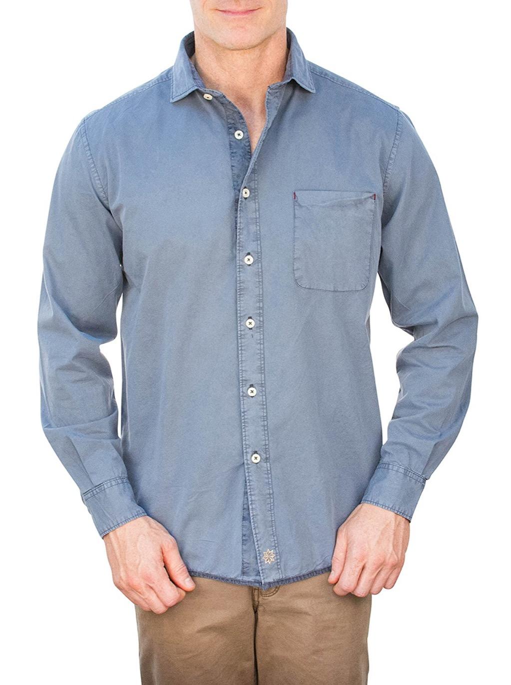thaddeus grant untucked shirt