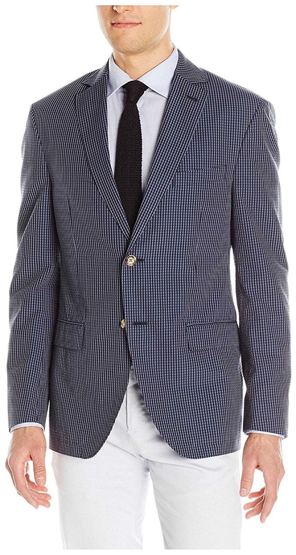 franklin tailored seersucker blazer