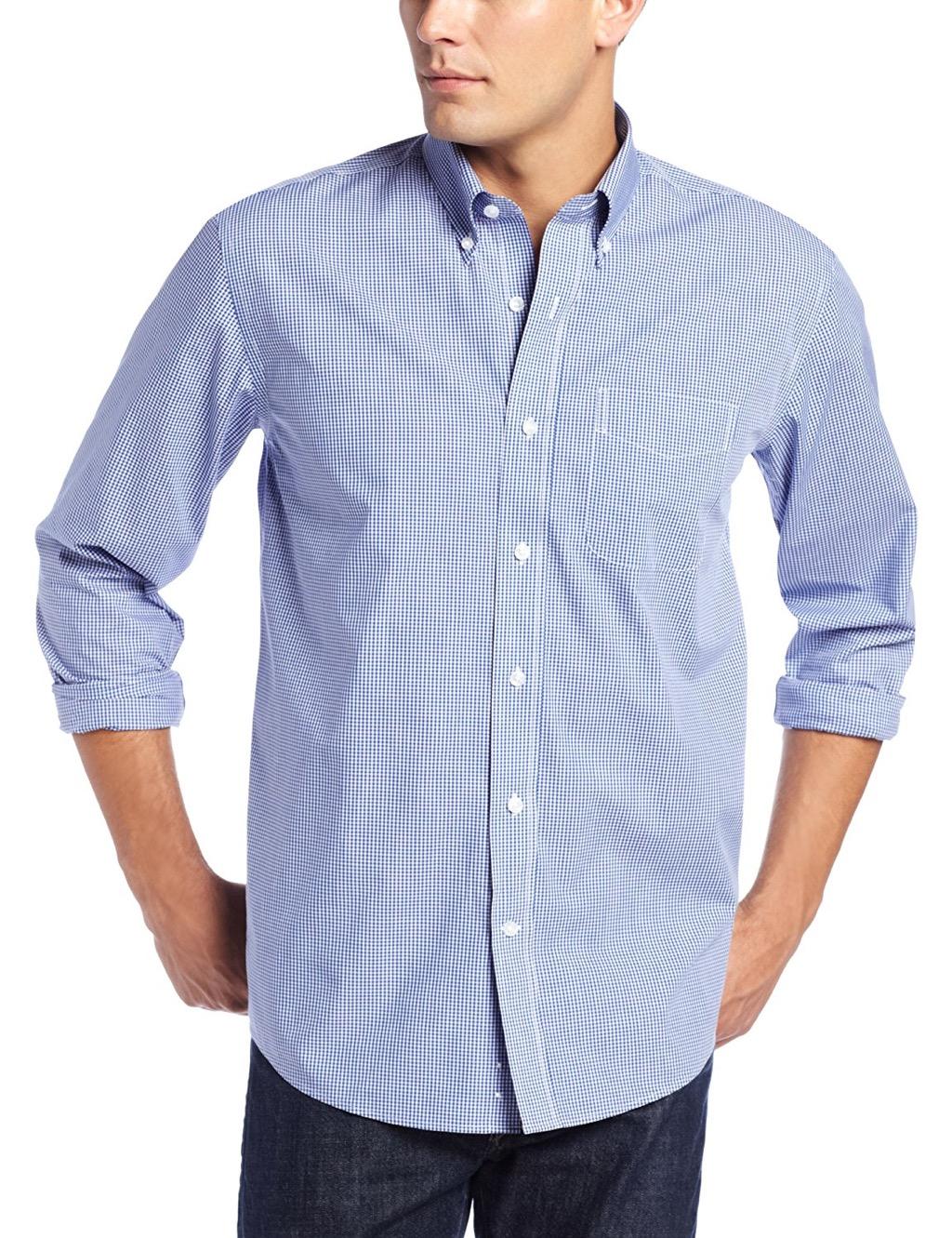 cutter and buck untucked shirt